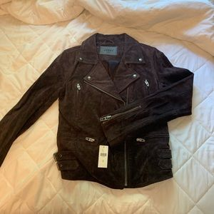 Blank NYC suede leather jacket, size is XS.